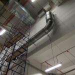 17. Важно правильно подвешивать воздуховод используя прочный канат