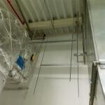 6. Монтируем шпильку в качестве основного элемента подвеса воздуховодов
